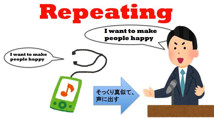 英語 リピーティング 勉強法