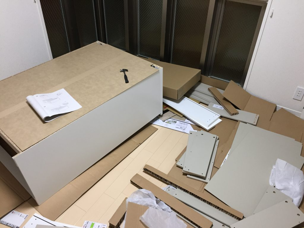 IKEA 組立