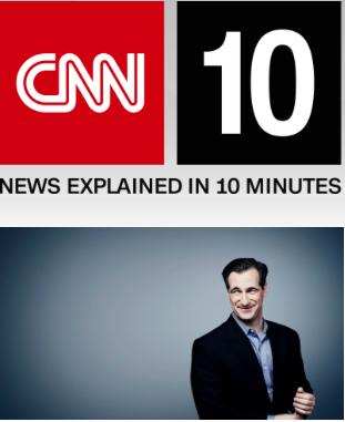 CNN student news podcast