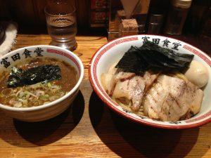 富田食堂 つけ麺