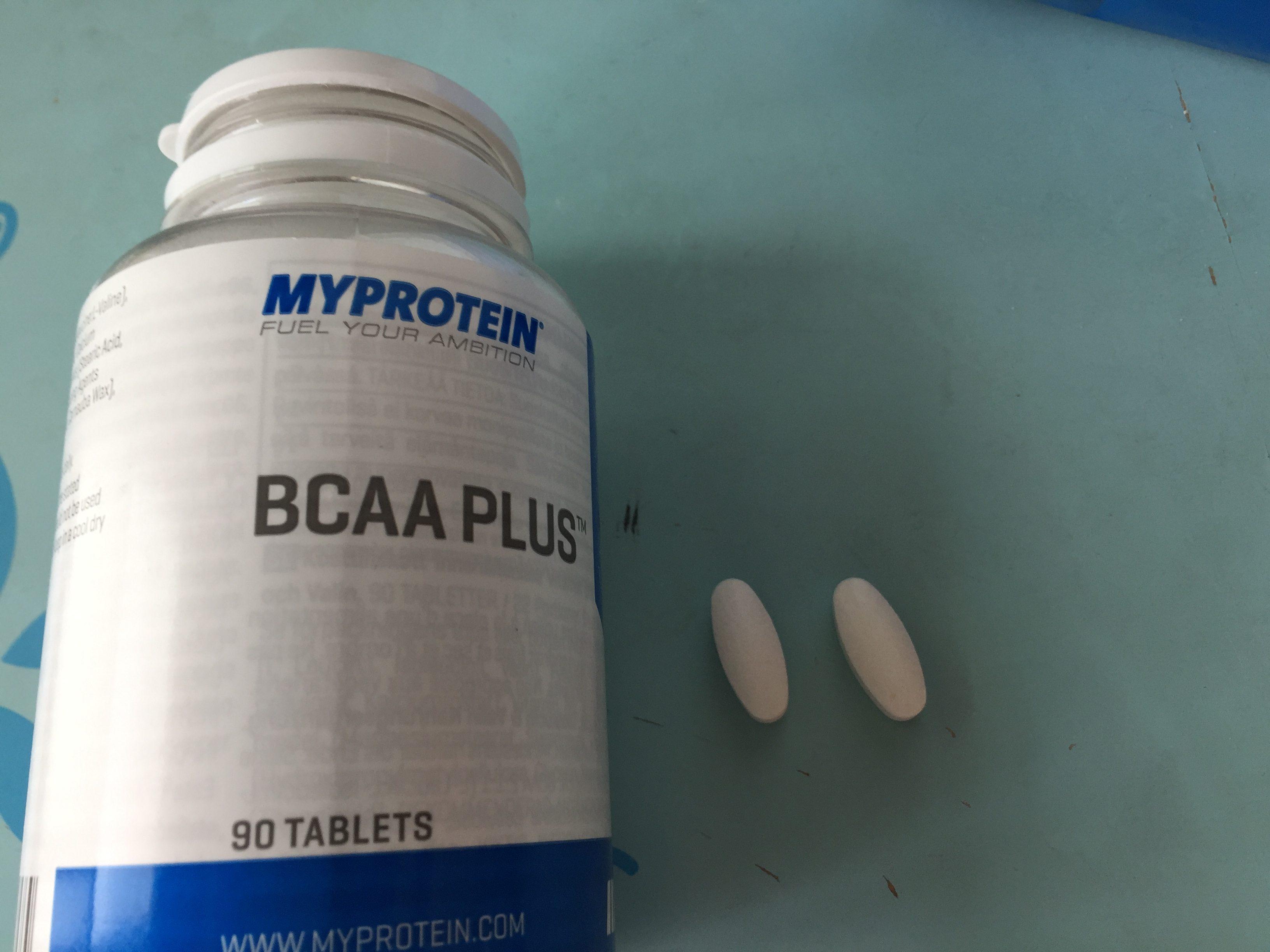 マイプロテイン BCAA 錠剤